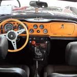 Very British - das Cockpit des Triumph TR 6