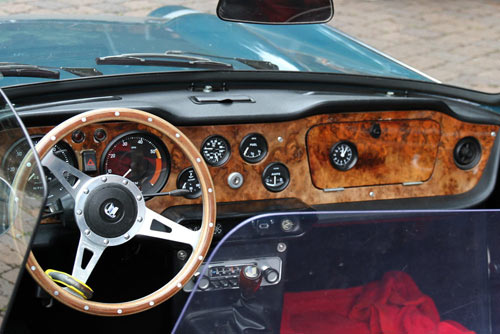 Triumph TR 6 - Cockpit