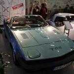 Triumph Roadster TR 8 auf der Bremen Classic Motorshow