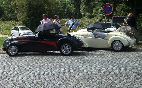 Burton Roadster - Fachsimpelei auf dem Autobahn-Rastplatz