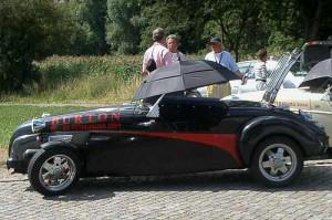 Burton Roadster - Pause auf grosser Fahrt