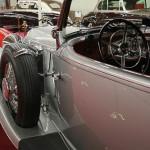 Cockpit mit Reserverad – Mercedes-Benz 500 K