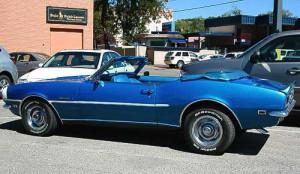 Seitenansicht - Camaro SS 396 Convertible