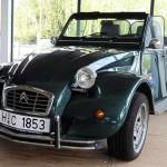 Dicke Backen und Breitreifen – Kennzeichen des Citroen 2 CV Cabrios