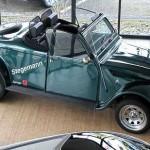 Offener geht es kaum - das Citroën 2 CV Cabrio