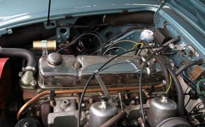 Und unter der Haube - der krafvolle 3-Liter-Reihensechszylinder-Motor!