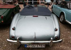 Ein schöner Rücken kann auch entzücken - Austin Healey 3000