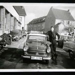 1961 - ein stolzer Lehrling mit seinem Lloyd Alexander