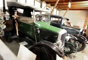 Ford Oldtimer - Model T ( Tin Lizzie ) und Model A in Ziegenhagen