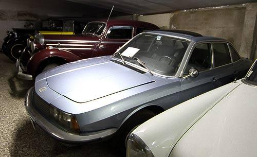 Oldtimer-Highlights von Mercedes-Benz - dazwischen der Ro 80 von NSU