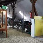 Einblick in die Motorrad-Abteilung des Erlebnisparks Ziegenhagen