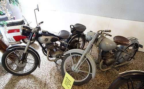 Hofmann-Motorräder von 1950 - vom Markt längst verschwunden