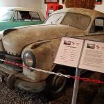 Ein echter 'Scheunenfund' - dieser Borgward 1500 war jahrzehntelang eingemauert