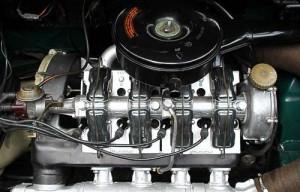 Schnurrt wie eine Nähmaschine - der Motor des NSU 1200 C