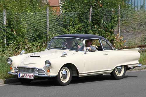 Auto-Union 1000 SP - in bester Verfassung