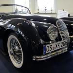 Jaguar XK 120 - Sonderschau Britischer Roadster im Automuseum Melle
