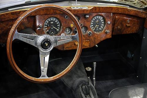 Cockpit - Jaguar XK 120