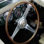 MG A – das klassische Cockpit britischer Roasdster