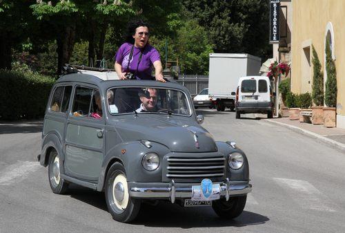Fiat 500 B Berlina 'Topolino' mit Faltschiebedach