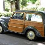 Im Stil der Zeit - Fiat 500 Topolino Kombi mit Echtholz-Aufbau