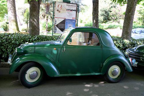 Fiat 500 A Topolino - Standardausführung als Zweisitzer 'Berlina'