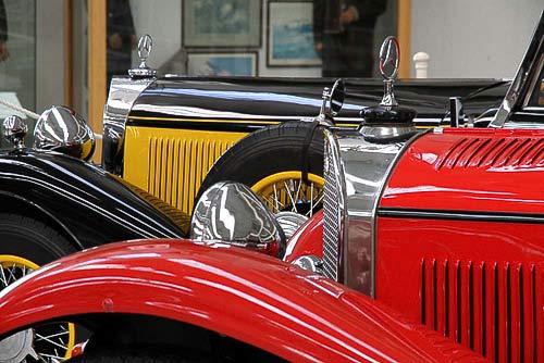 Edle Mercedes-Benz Oldtimer aus der Vorkriegszeit