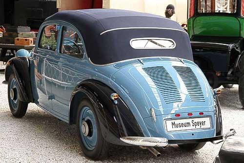 Mercedes-Benz 170 H - Baujahr 1938 - 4-Zylinder, 1.697 ccm, 38 PS, Heckmotor