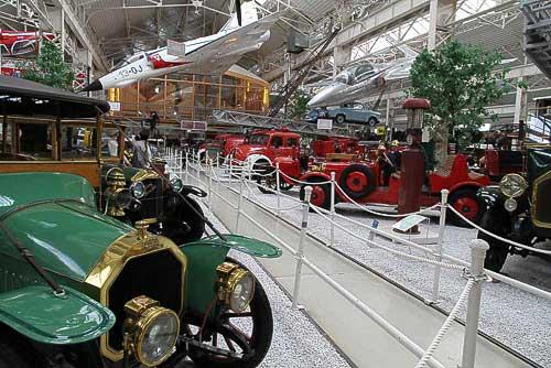 Eine herausragende Schau historischer Feuerwehren