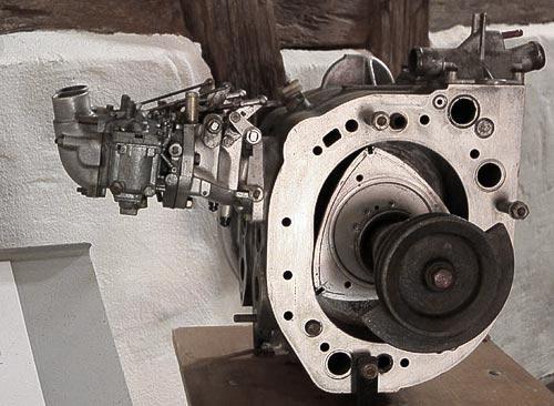 Querschnitt RO 80 Motor