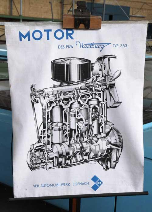 wartburg-motor
