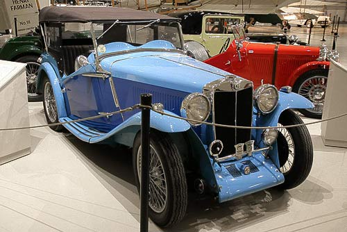 MG NB - Baujahr 1935